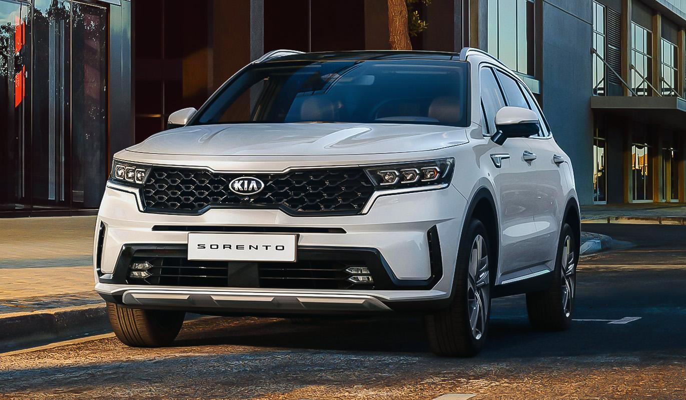 Компания Kia официально представила новое поколение Sorento