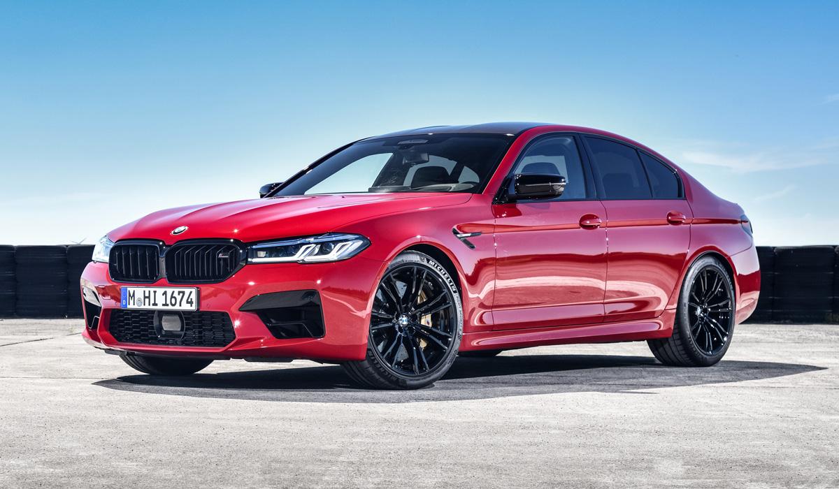 Обновлённый BMW M5 Competition