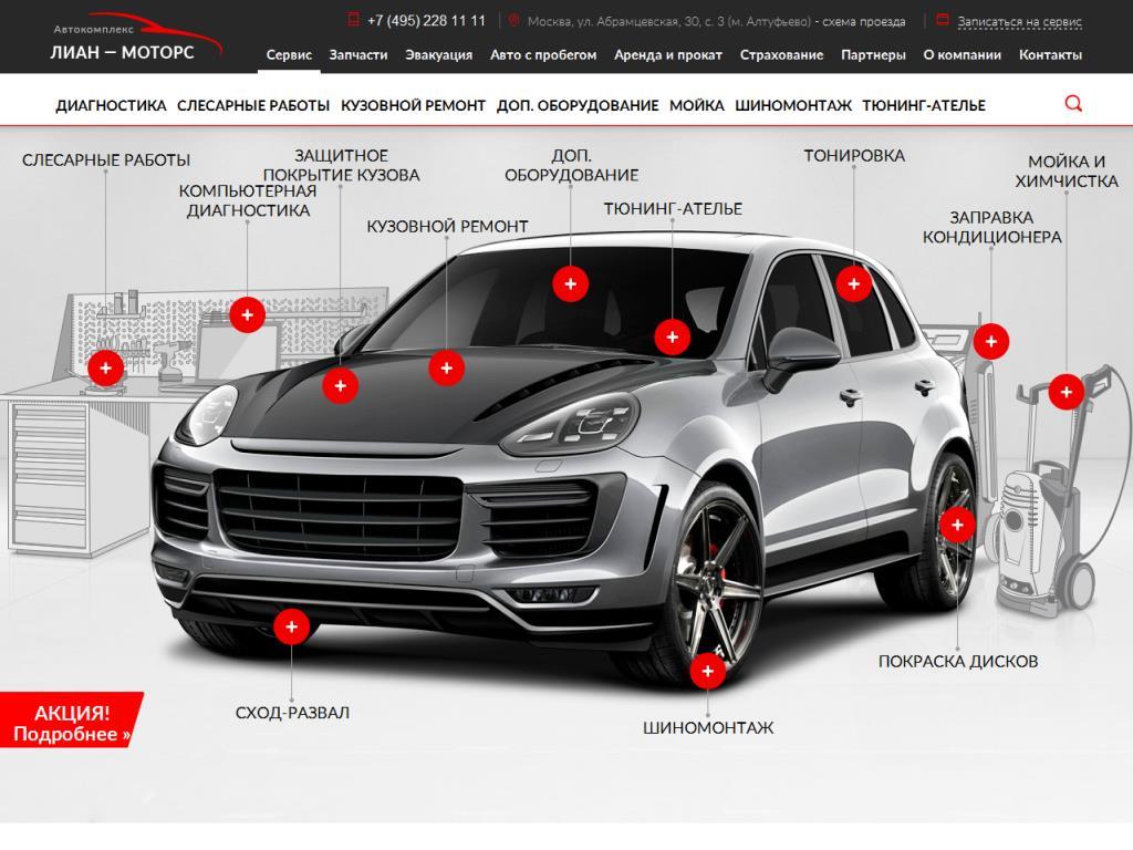 Лиан-Моторс Абрамцевская